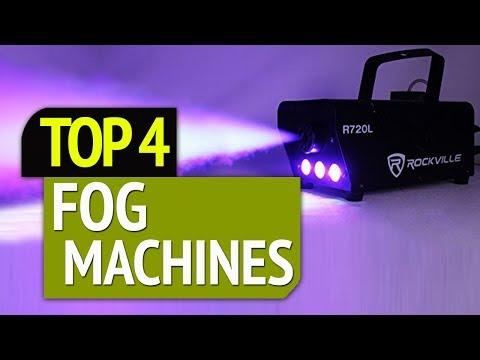 TOP 4: Best Fog Machines 2019
