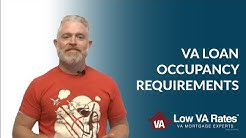 VA Loan Occupancy Requirements | VA Loan Rental