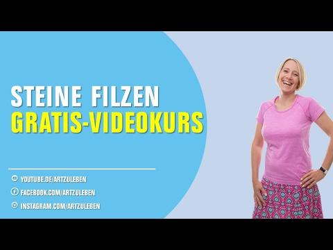 [Filztutorial] Filzen einfach online lernen – Gratis-Videokurs