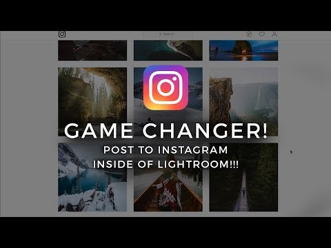 Direkte fra LR til Instagram