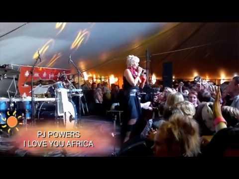 I LOVE YOU AFRICA - PJ POWERS