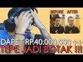 Donation Rp 40jt ++ React Dan Tepe Botak | Haters Dilarang Masuk