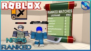 RANKED MATCHES SONO QUI!!! {} ROBLOX - Nindo RPG: di là