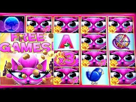 Miss Kitty Gold Slot Machine Bonus & BIG WIN ! Live Aristocrat Slot Play
