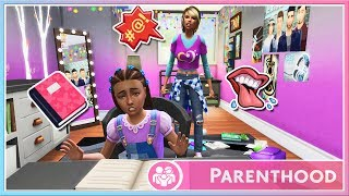 Let's Play The Sims 4 | ✨PARENTHOOD✨ | Part 1 // Journal Snooping!📓😱