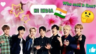 Download GOT7 saying India smoll compliation 2020