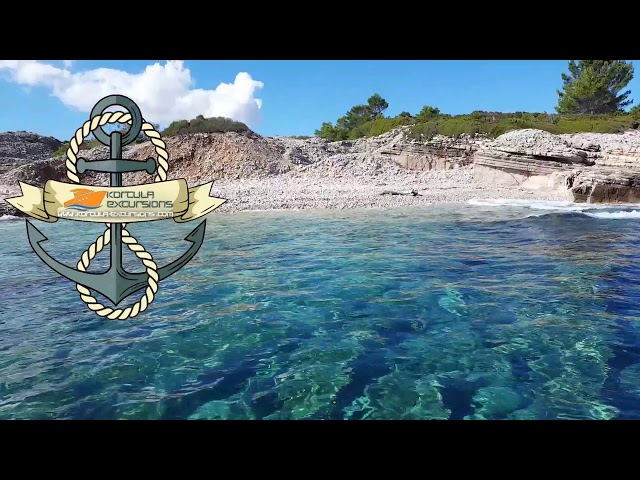 Korcula Excursions   Beach and underwater - Korcula Boat tours