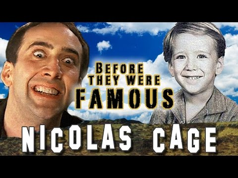 NIC CAGE - Before They Were Famous