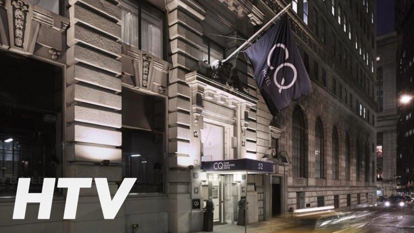 Club Quarters Hotel Wall Street En New York Youtube