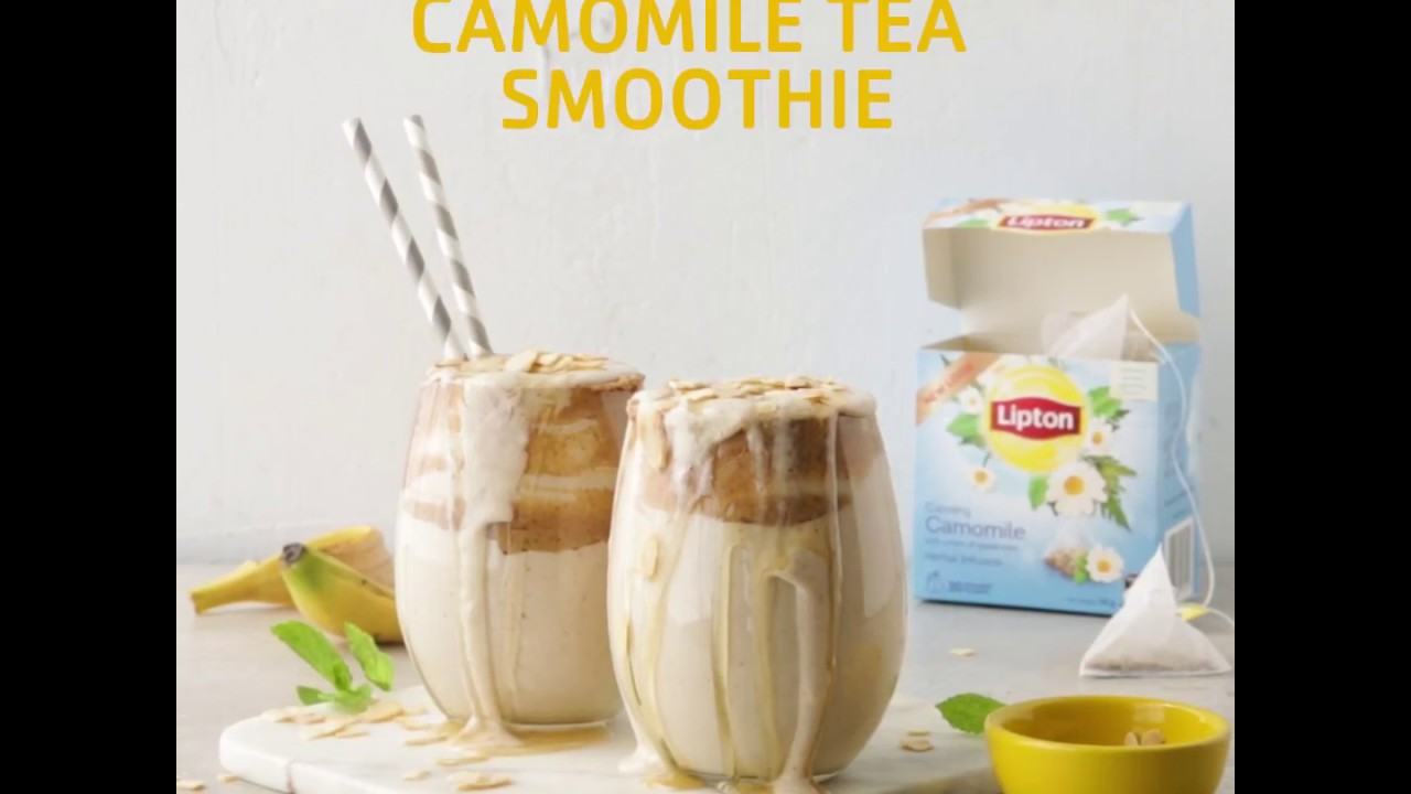 Lipton Camomile Banana & Honey Smoothie