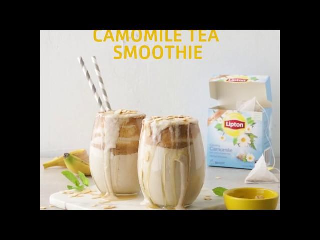 Lipton Camomile Banana & Honey Smoothie