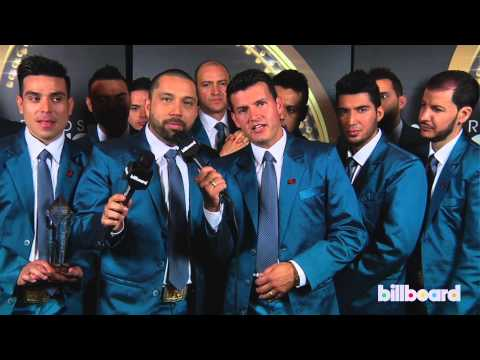 Banda El Recodo De Cruz Lizárraga backstage Q&A at the Billboard Mexican Music Awards 2013