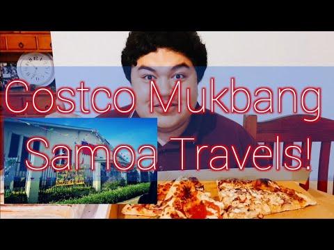 COSTCO MUKBANG | Travel Tips and Reviews on Samoa | 300+ Subs | Shopping at Costco