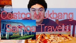COSTCO MUKBANG! Travel Tips on Samoa - 300+ Subs!