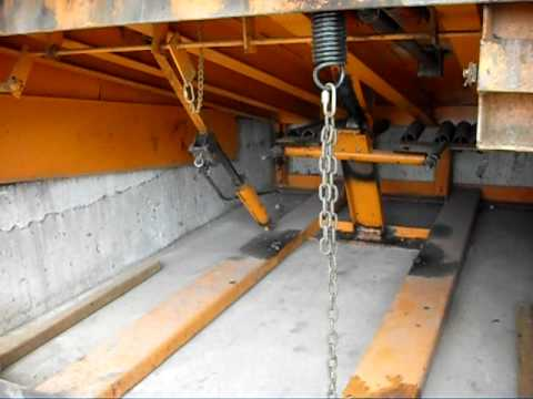Dock Leveler LOTO (lock out/tag out)