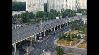 Фото 01.08.2021 04:47 ДТП мот один участник Москва, Ярославское ш., 126
