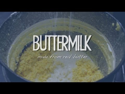 What is real Buttermilk?