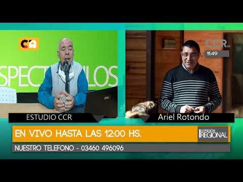27-04-2020 > Expresión Regional (José Solís, Canal 2 Máximo Paz, Máximo Paz, Santa Fe, Argentina)