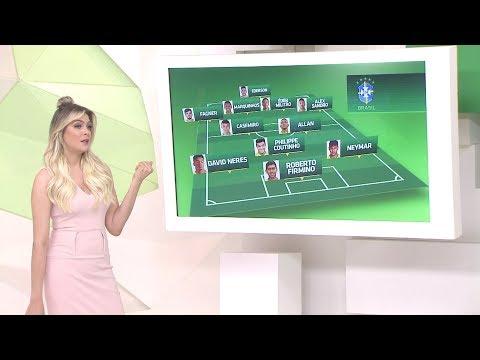 Comentaristas analisam elenco titular da Seleção Brasileira