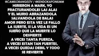 RIENDO PARA NO LLORAR (LETRA COMPLETA) - KENDO KAPONI