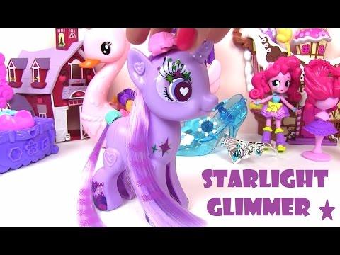 Старлайт Глиммер. Украшаем и Делаем Прически Starlight Glimmer Май Литл Пони Мультик Игрушки