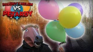 Balony z  Helem VS Petardy  - czyli Latające Petardy na spontanie!