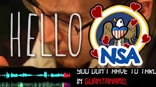 Hello NSA (A Love Song of Mass Surveillance) by Rock, Paper, Cynic