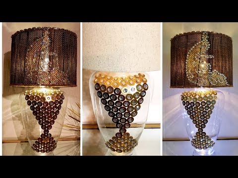 5 Below Diy| Elegant Lighting Using Home Items| Easy Home Decor ideas!