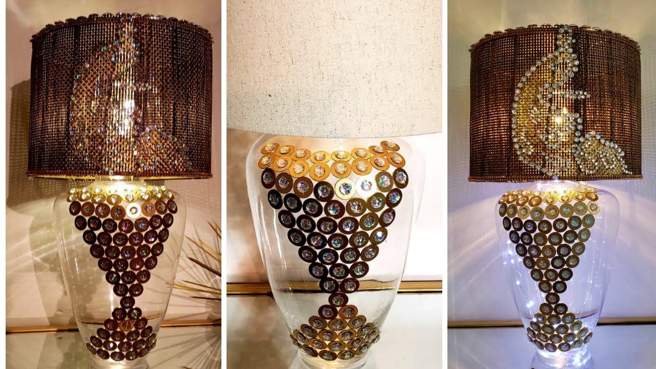 5 Below Diy Elegant Lighting Using Home Items Easy Decor Ideas