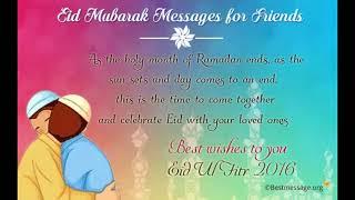 Eid Mubarak 2016 Wishes Messages, Best Ramadan Text Message, Eid Celebration Quotes