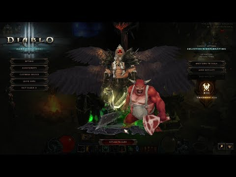 Diablo 3 Season 12 Start GR 91 P590 HOTA (No Buffs/No Ancients) Barb