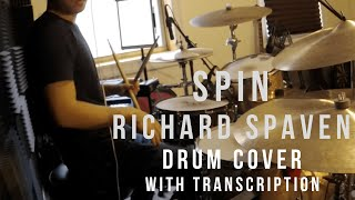 Richard Spaven - Spin (feat. Jordan Rakei) Drum Cover With Transcription