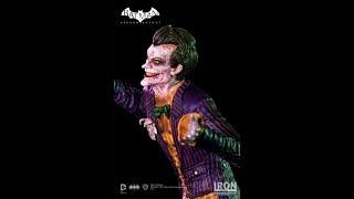 IRON STUDIOS - THE JOKER - BATMAN : ARKHAM KNIGHT - ART SCALE 1/10 - REVIEW FRANCAISE FRENCH