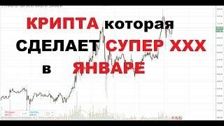 Криптовалюты Которые Сделают Супер Х в Январе(биткоин,обучение криптовалютам)