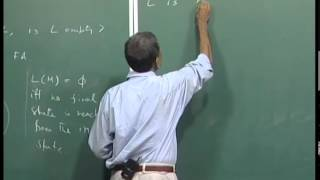 Mod-01 Lec-15 Decision problems for regular languages.