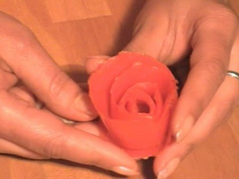 dcoration astuce rose tomate