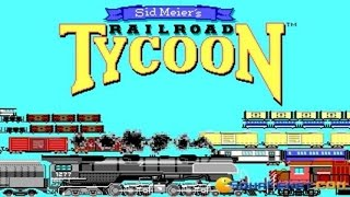 Railroad Tycoon gameplay (PC Game, 1990)