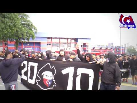 Perarakan BOS - JDT VS KEDAH   Piala Sumbangsih 2017  Boys Of Straits