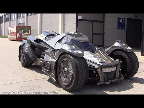 The V10 Lamborghini BATMOBILE! The CRAZIEST CAR EVER?!