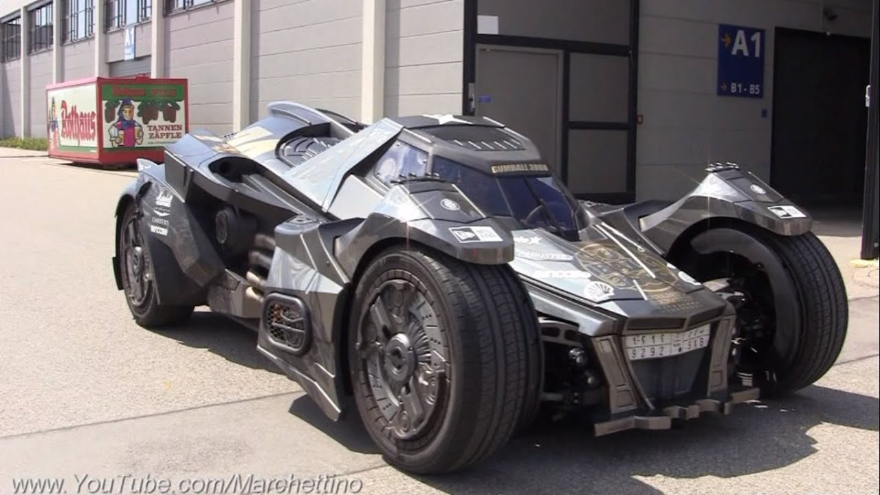 Batman 3d Live Wallpaper The V10 Lamborghini Batmobile The Craziest Car Ever