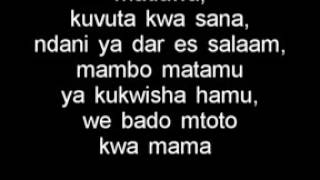 Alikiba mwana lyrics
