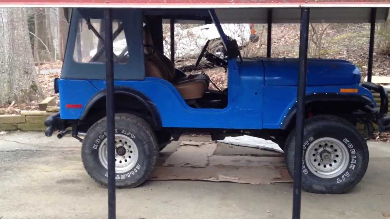 Pacesetter exhaust system Jeep CJ5 76 AMC 304. Part 4 - YouTube