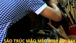 Chế Tạo Sáo trúc Việt Nam :Sáo La 4