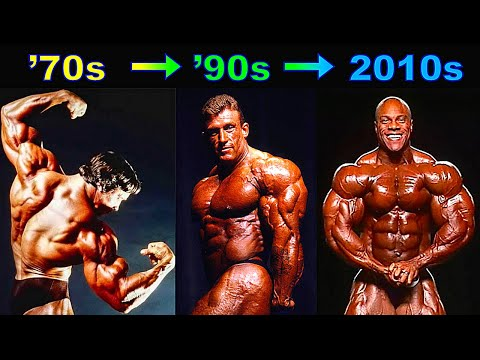 The All-Time Best Bodybuilders - Decade By Decade!