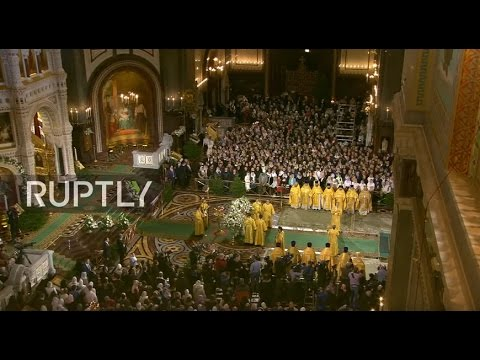 LIVE: Patriarch Kirill to lead Orthodox Christmas mass in Moscow