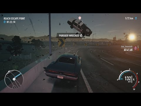 NFS Payback - City Lights Runner Questline Story Missions with Dodge Charger