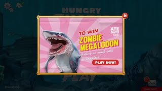 Win Zombie Megalodon ATE DAYS 7 LIVE EVENT - Hungry Shark World