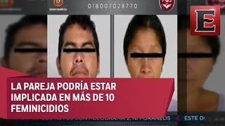 Cae pareja de presuntos feminicidas en Ecatepec
