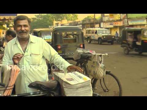 Newspaper Distribution in Jamnagar, Gujarat
