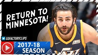 Ricky Rubio Full Highlights vs Timberwolves (2017.10.20) - 19 Pts, 10 Ast, The Return!